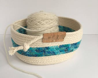 Rope Bowl YARN BOWL