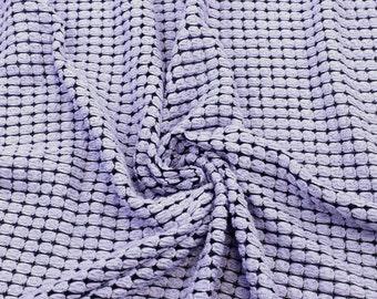 Lilac Soft Shell Sweater Knit Fabric - 1 Yard Style 6359