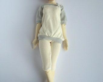 leggings (short) - light yellow - Unoa / Minifee