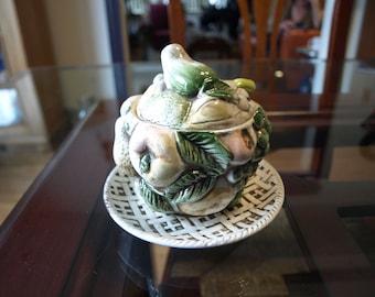 Vintage Fruit Shaped Jam / preserves Jar made in Japan – no. 623