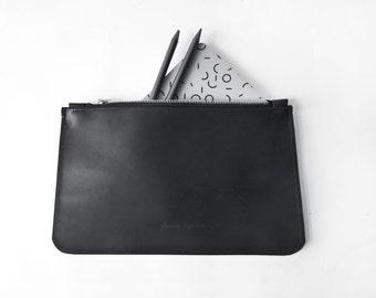 Clutch Leather ROJ