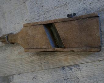 Vintage Wooden Mandolin Slicer
