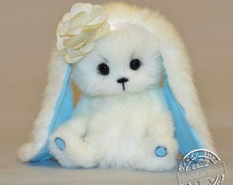 Susie bunny (made to order), teddy bunny, bunny, the author's work.
