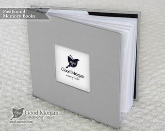 Baby Memory Book - Medium Grey