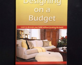 Interior Designer Decorating Manual Design Services Paperback Designing on a Budget Book Home Decor Ideas How to Design with worksheets