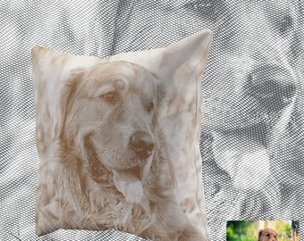 Ultimate Pet Photo Pillow, a stylish throw pillow from your photo; Custom Pet Pillow; Personalized Pet Pillow; Pet Photo Pillow; Gift