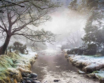 Glendalough Ireland Photography, Glendalough Cemetery, Wicklow Mountains National Park,  Fine Art Photography