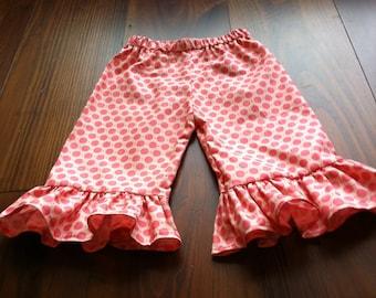 Ruffle Pants Sewing Pattern - Baby Toddler Children