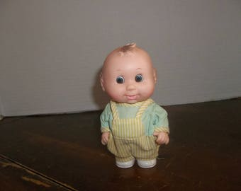 vintage rubber fat pot belly baby boy toddler doll