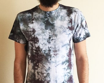 Tie Dye shirt, festival shirt, shibori shirt, psychedelic clothing, urban outfitters, hand dyed shirt, gift for him,