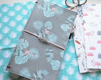 IN stock - ONLY Regular size Fabric Cover Fauxdori, Travelers Notebook, Cover fabric, Field Note, Standard Size Midori, A6 B6 size
