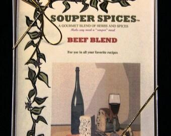 Main Dish Gift Set, Seasoning Mix, Herb & Spices,  Lamb Seasonings, Pork Seasonings, Beef Seasonings, Chicken Seasonings, No Salt