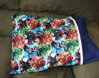 Marvel Superhero Pillowcase