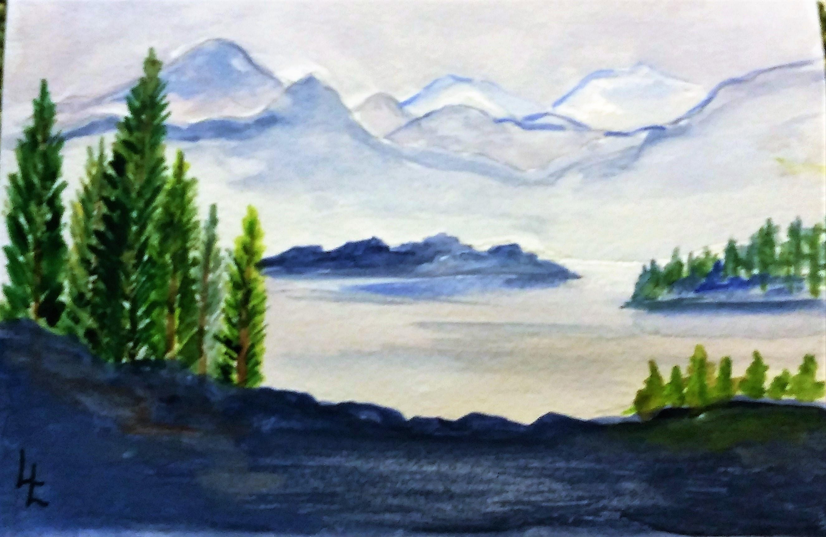 Awe Inspiring Landscape Any Occasion Greeting Cards