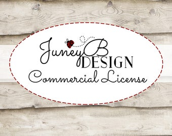 Commercial Use License, JuneyB Design Commercial Use, Commercial Use Digital Paper Packs, Clip Art