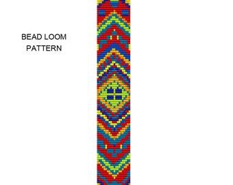 Chevron Bracelet Bead Loom Pattern - chevron3 loom