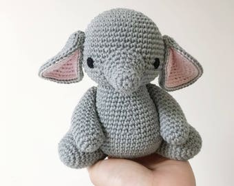 ELEPHANT crochet, amigurumi elephant, elephant baby gift, elephant newborn gift, elephant gift for kids, elephant toy, elephant gift