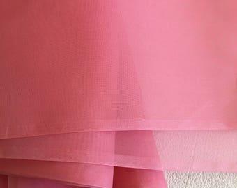 Vintage silk organza fabric