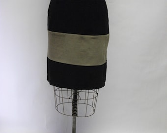 CUSTOM Stripey Cordoroy Skirt YOUR SIZE