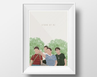 Stand By Me Art Print Poster - Multiple Sizes
