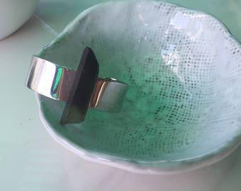 Smoky Quartz Cuff Bracelet