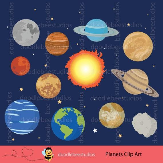 planets clipart outer space clipart solar system clip art planets rh etsystudio com plants clipart black and white plants clipart