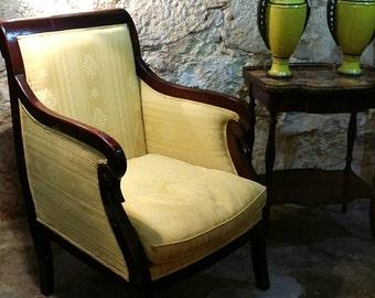 vintage swan chair