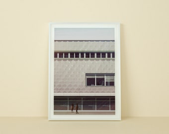 Art giclée print, A2 poster, signed. Modernism - Centrum Warenhaus Illustration.