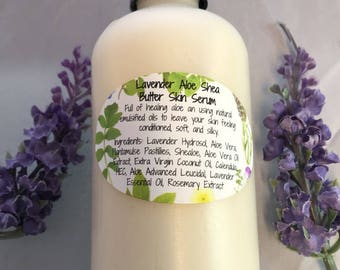 Lavender Aloe Shea Butter Skin Serum