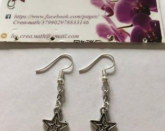 Silver Star earring type