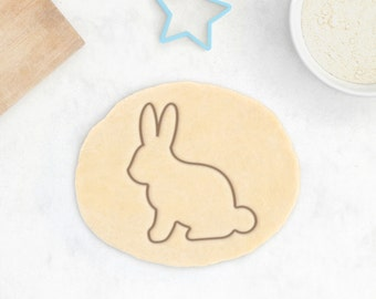 Bunny Cookie Cutter - Rabbit Cookie Cutter Baby Bunny Cookie Baby Cookie Cutter Baby Shower Favor Easter Cookie Cutter Easter Egg Gift