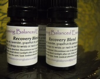 Recovery Essential Oil blend