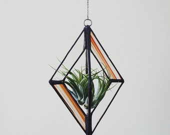 3d diamond stained glass
