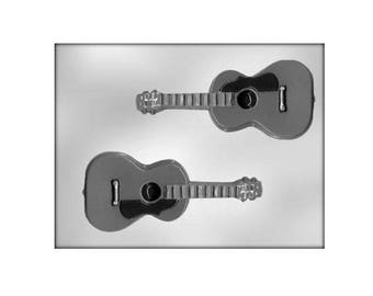 Guitar Chocolate Molds, Candy Mold, Music, CK Products