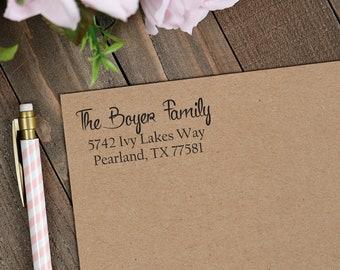 Custom Self Inking Address Stamp | Self-Inking Return Address Stamp | Personalized Address Stamp | Housewarming Gift | Invitation & Wedding