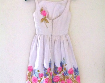 20% off 50s Floral You Summer Lovers- Summer Dress By Jonny Herbert Original Clothing; Flower girl: Wedding