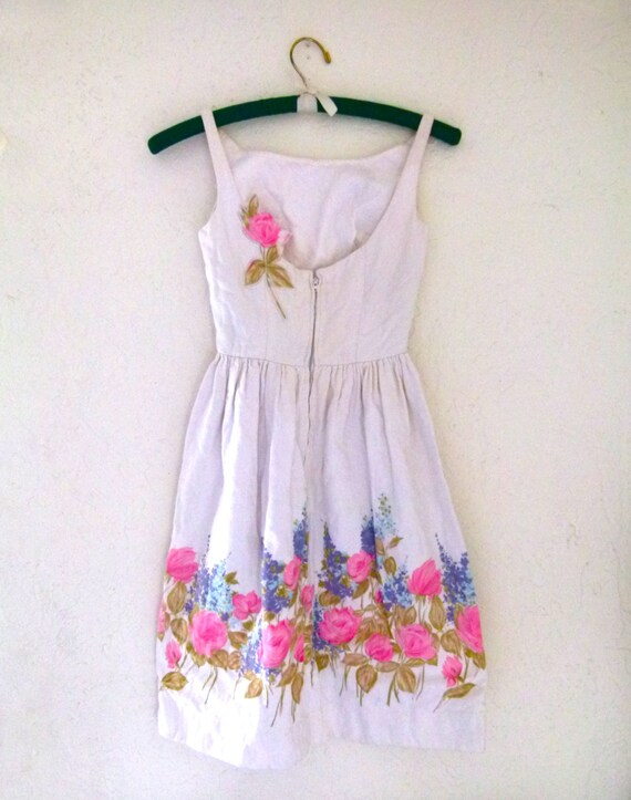 20% off 50s Floral You Summer Lovers- Summer Dress By Jonny Herbert Original Clothing; Flower girl: Wedding