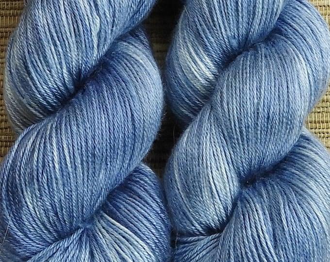 Hand dyed yarn - 'Indigo' - dyed to order on your choice of base yarn.