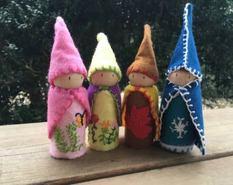 Four Seasons Gnomes