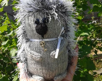 Hedgehog. Knitted toy, soft toy for a child, souvenir