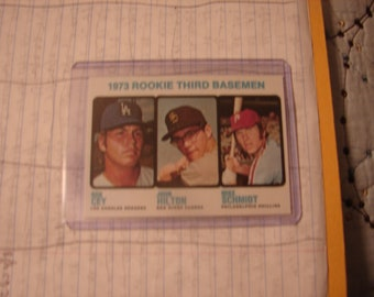 1973 Topps Mike Schmidt Reprint Rookie Card Nice