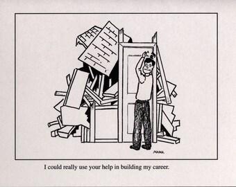 SALE Help build my career. Note Set of 20