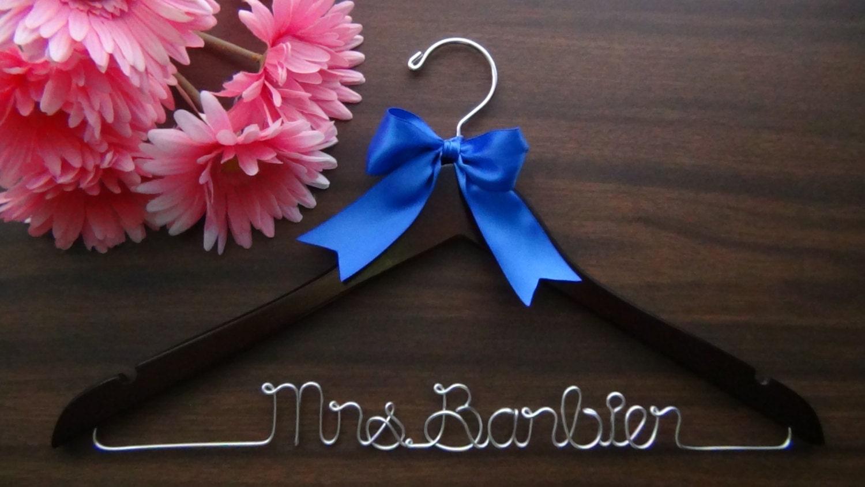 Personalisierte Andenken Braut Aufhänger Custom Made Hochzeit