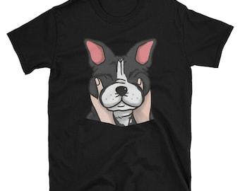 Chubby Cheeks French Bulldog Shirt, Funny Frenchie Dog Gift