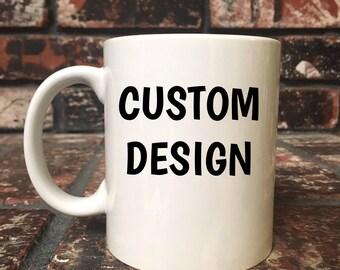 12 oz. CUSTOM COFFEE CUP