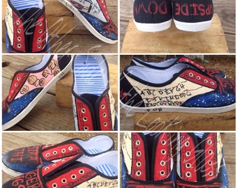 Women's Stranger Things Canvas Shoes