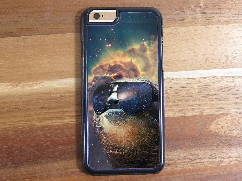 Space Nebula Gangsta Sloth Sunglassess Shades iphone 5 5S 5C