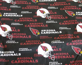 Arizona Cardinals fabric - Womens lined surgical scrub cap, scrub hat, Nurse surgical cap, F-900 B