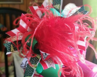 Christmas OTT bow