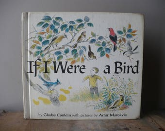 If I Were a Bird by Gladys Conklin Pictures by Artur Marokvia